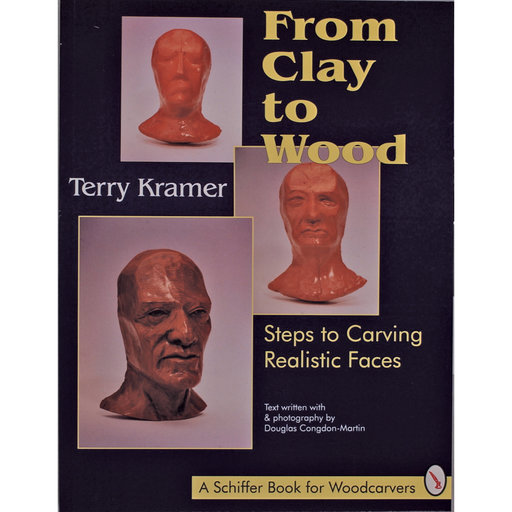 View a Larger Image of From Clay to Wood: Steps to Carving Realistic Faces
