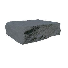 Full Rock Landscaping Rock, Grey