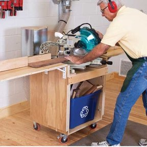 Full Service Mitersaw Stand - Downloadable Plan