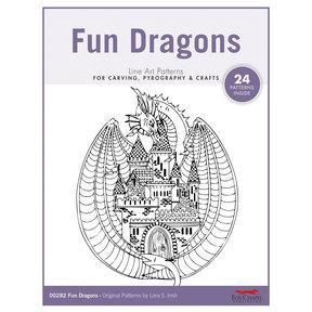 Fun Dragons Carving Patterns Pack