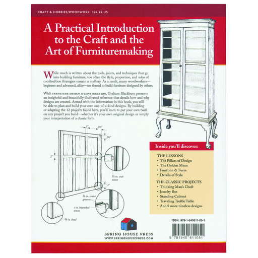 View a Larger Image of Furniture Design & Construction