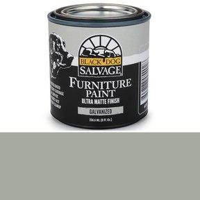 Galvanized - Gray Furniture Paint, 1/2 Pint 236.6ml (8 fl. Oz.)
