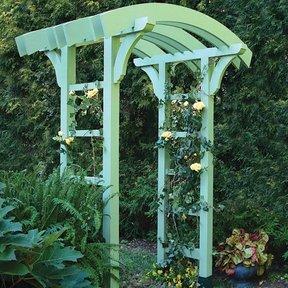 Garden Arbor and Gate - Downloadable Plan