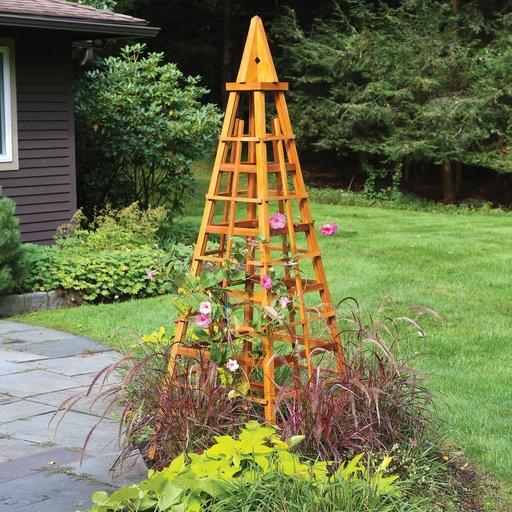 View a Larger Image of Garden Obelisk Downloadable Plan