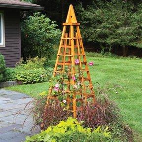 Garden Obelisk Downloadable Plan