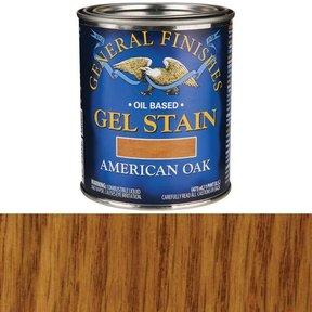 American Oak  Gel Stain Solvent Based Pint