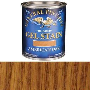 American Oak Gel Stain Solvent Based Quart