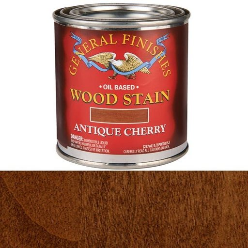 View a Larger Image of Antique Cherry Stain Solvent Based 1/2 Pint