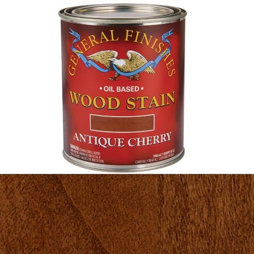 View a Larger Image of Antique Cherry Stain Solvent Based Quart