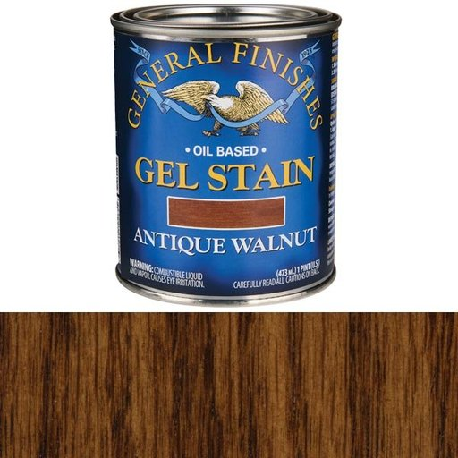 View a Larger Image of Antique Walnut Gel Stain Solvent Based Pint