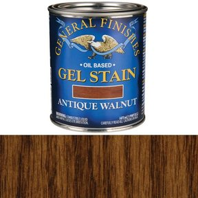 Antique Walnut Gel Stain Solvent Based Pint