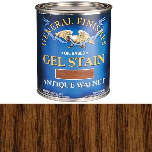 View a Larger Image of Antique Walnut Gel Stain Solvent Based Quart