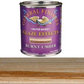 Burnt Umber Glaze Water Based Pint