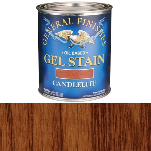View a Larger Image of Candlelite Gel Stain Solvent Based Quart