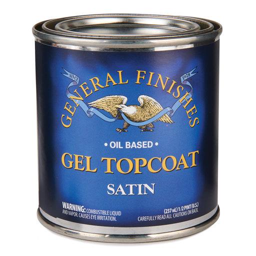 View a Larger Image of Satin Gel Varnish Solvent Based 1/2 Pint
