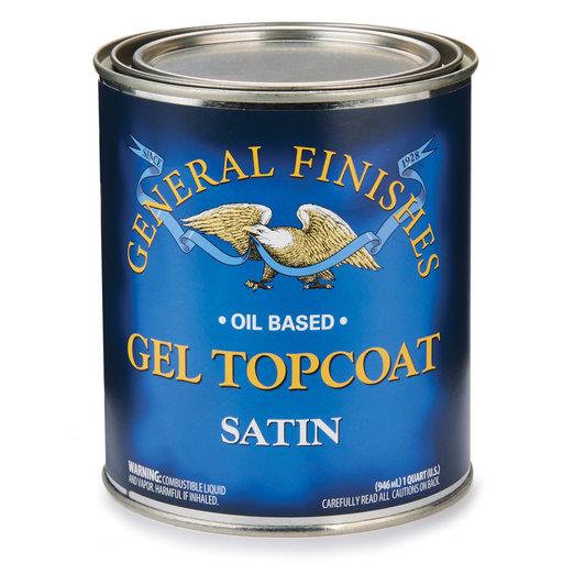View a Larger Image of Satin Gel Varnish Solvent Based Quart