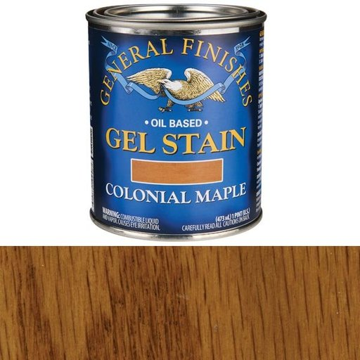 View a Larger Image of Colonial Maple Gel Stain Solvent Based Pint
