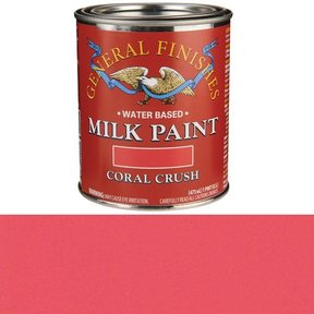 Coral Crush Milk Paint Water Based Pint