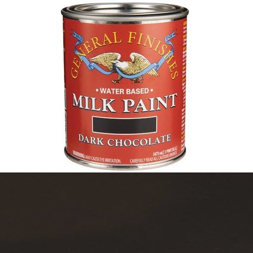 View a Larger Image of Dark Chocolate Milk Paint Water Based Pint