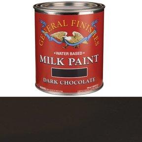 Dark Chocolate Milk Paint Water Based Quart