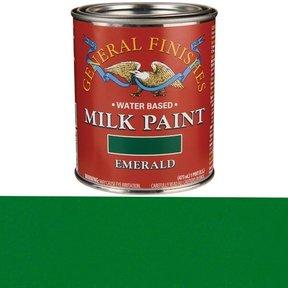 Emerald Milk Paint Water Based Pint
