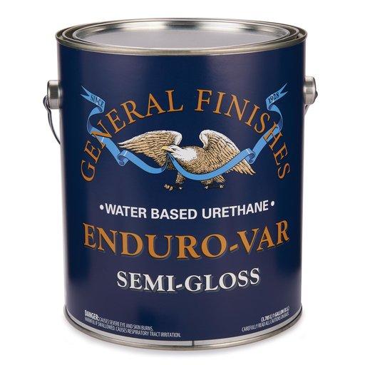 View a Larger Image of Semi-Gloss Enduro-Var Varnish Water Based Gallon