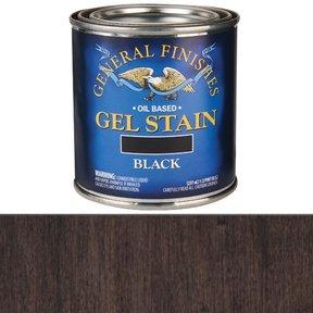 Black Stain Gel Solvent Based 1/2 Pint