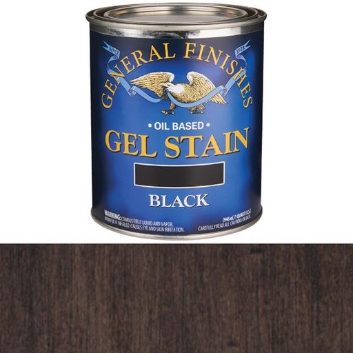 View a Larger Image of Black Stain Gel Solvent Based Quart