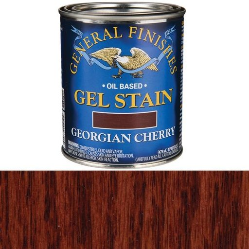 View a Larger Image of Georgian Cherry Gel Stain Solvent Based Pint