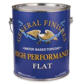 Flat High Performance Varnish Water Based Gallon
