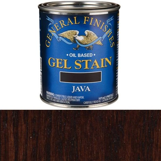 View a Larger Image of Java Gel Stain Solvent Based Pint