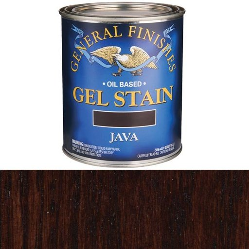 View a Larger Image of Java Gel Stain Solvent Based Quart