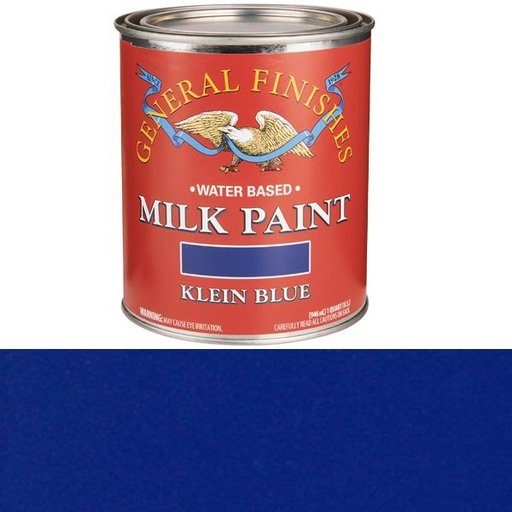 View a Larger Image of Klein Blue Milk Paint Water Based Quart