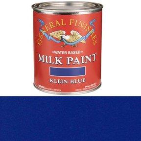 Klein Blue Milk Paint Water Based Quart