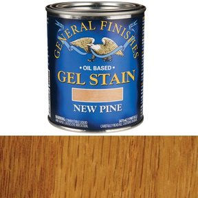 New Pine Gel Stain Solvent Based Pint
