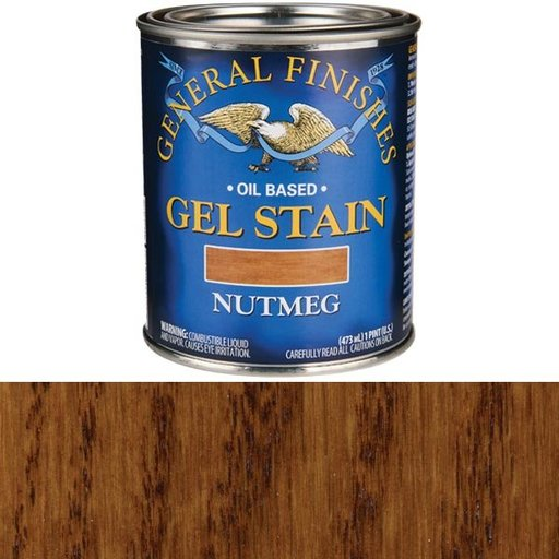 View a Larger Image of Nutmeg  Gel Stain Solvent Based Pint