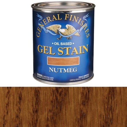 View a Larger Image of Nutmeg  Gel Stain Solvent Based Quart