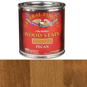 Pecan Stain Solvent Based 1/2 Pint