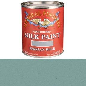 Persian Blue Milk Paint Water Based Quart