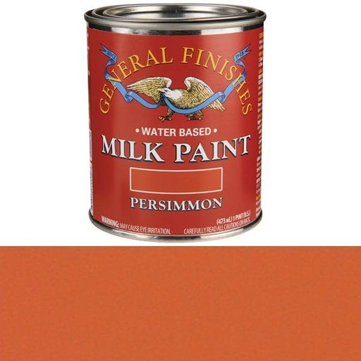 View a Larger Image of Persimmon Milk Paint Water Based Pint