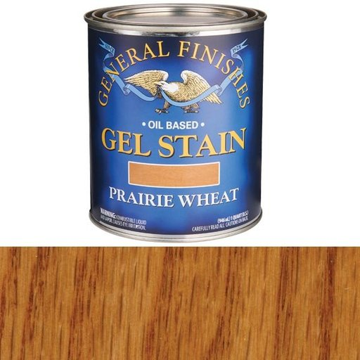 View a Larger Image of Prairie Wheat Gel Stain Solvent Based Quart