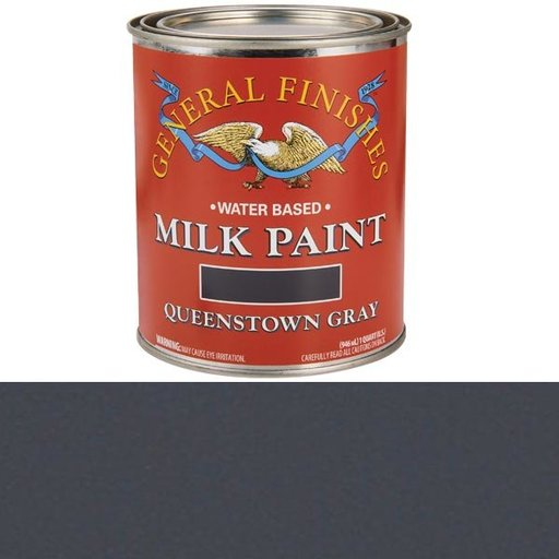 View a Larger Image of Queenstown Gray Water Based Milk Paint Quart