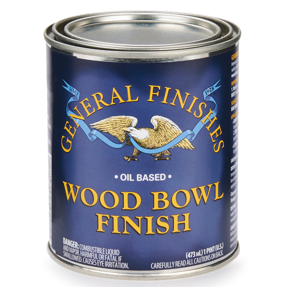 View a Larger Image of Satin Wood Bowl Varnish Solvent Based Pint
