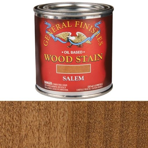 View a Larger Image of Salem Stain Solvent Based 1/2 Pint