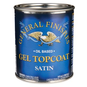 Satin Gel Varnish Solvent Based Pint