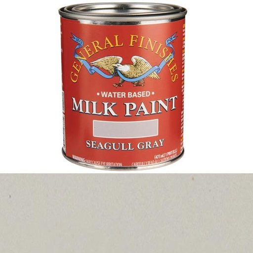View a Larger Image of Seagull Gray Milk Paint Water Based Pint