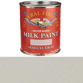 Seagull Gray Milk Paint Water Based Pint