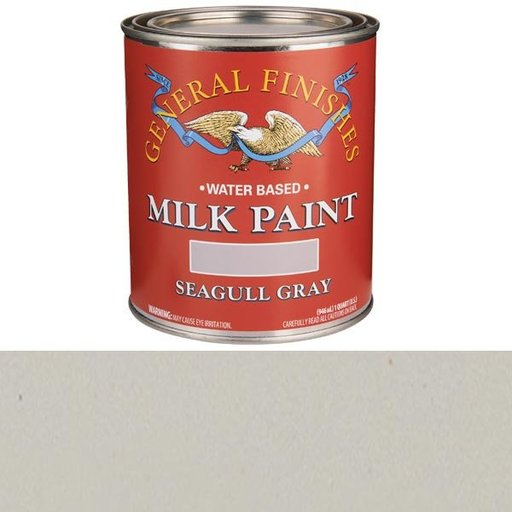 View a Larger Image of Seagull Gray Milk Paint Water Based Quart