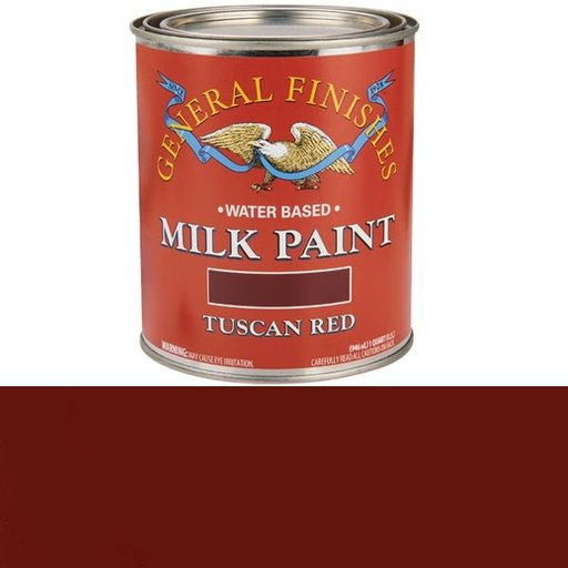 View a Larger Image of Tuscan Red Milk Paint Water Based Quart