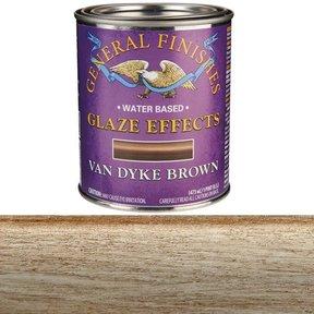 Van Dyke Brown Glaze Water Based Pint